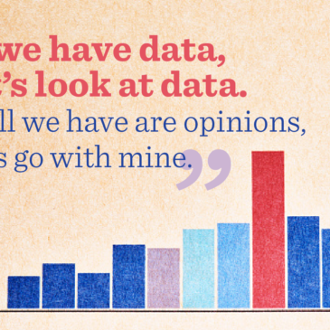 Let's look at data