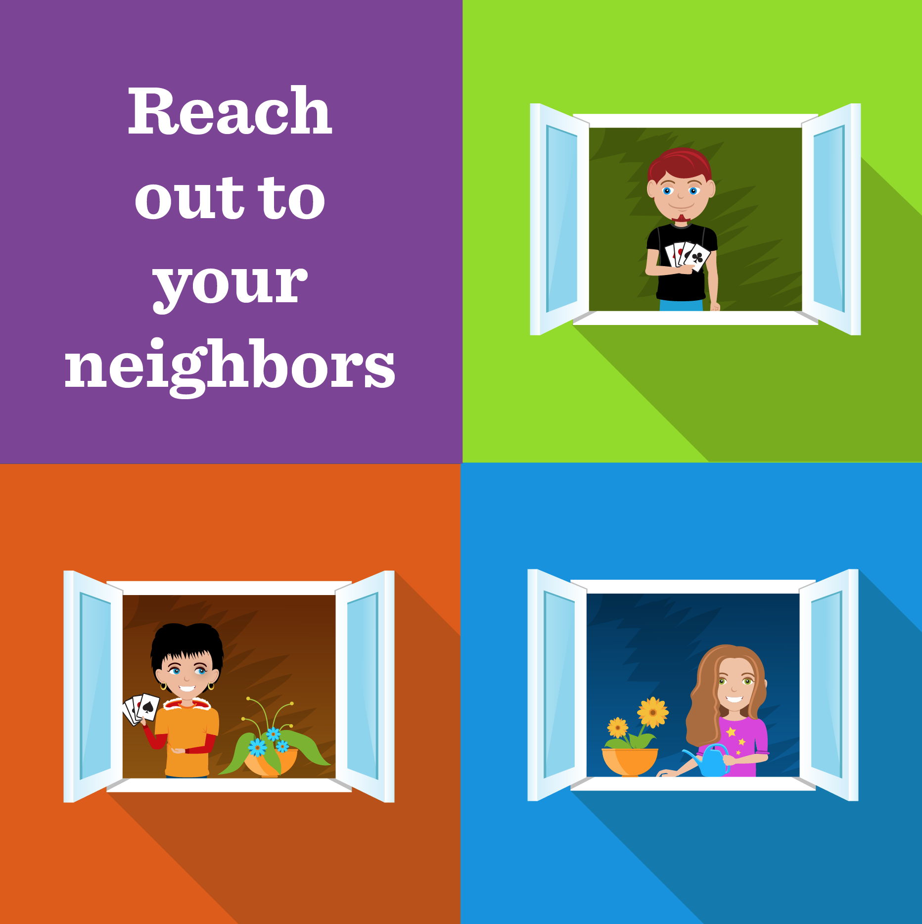 Reach out to your neighbors