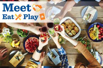 Meet. Eat. Play.