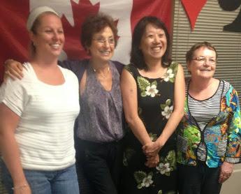 Isabelle Brisebois, Sandra Fraser , Kismet Fung, Francine Cimon